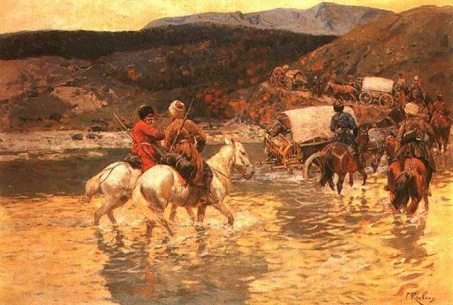 Внутренняя социальная борьба среди черкесско-адыгских племен в XVIII веке