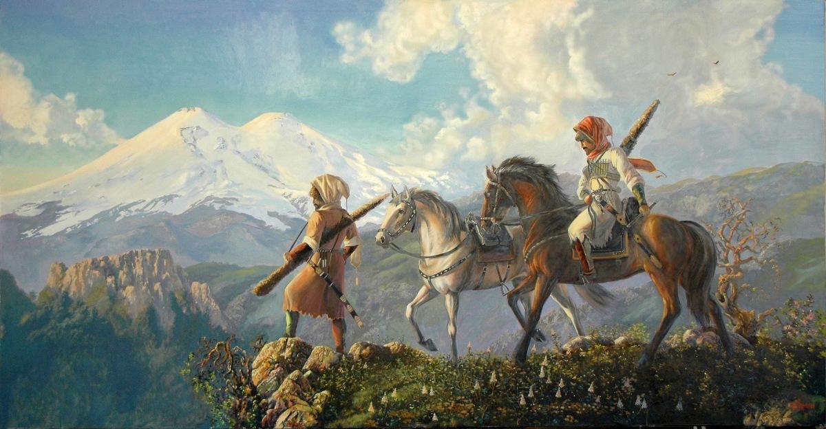 Сложение древнеадыгских племен