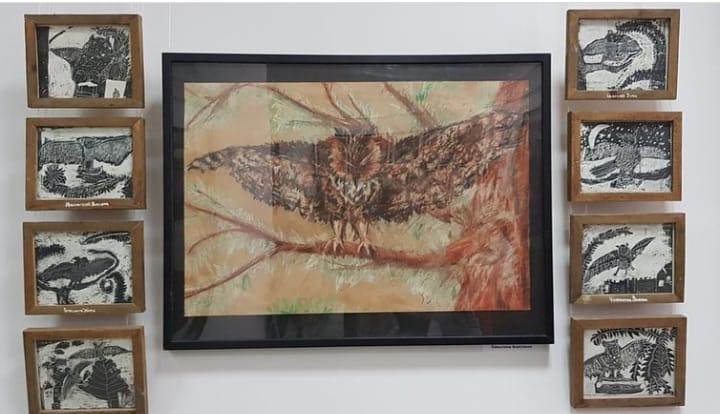 В Картинной галерее Адыгеи открылась выставка «Энемский сад»