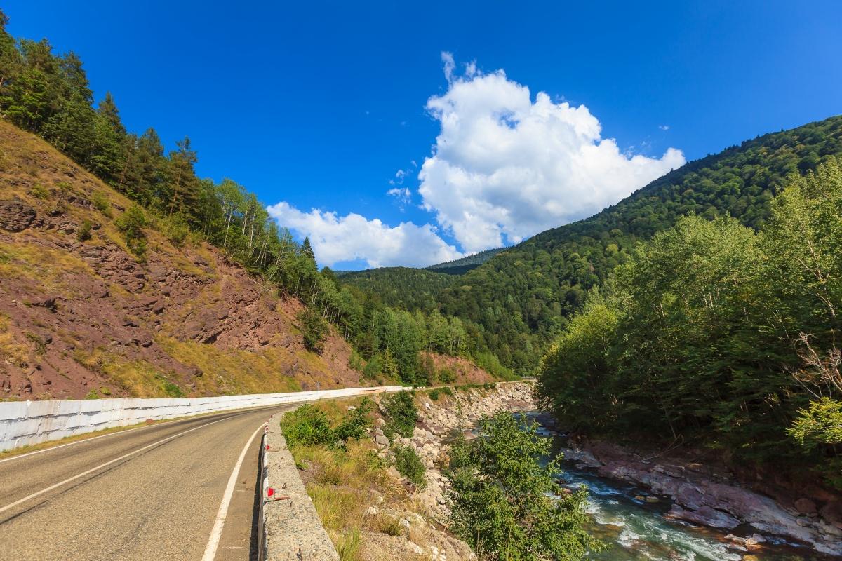 Дорога Даховская - Лагонаки может быть передана в федеральную собственность