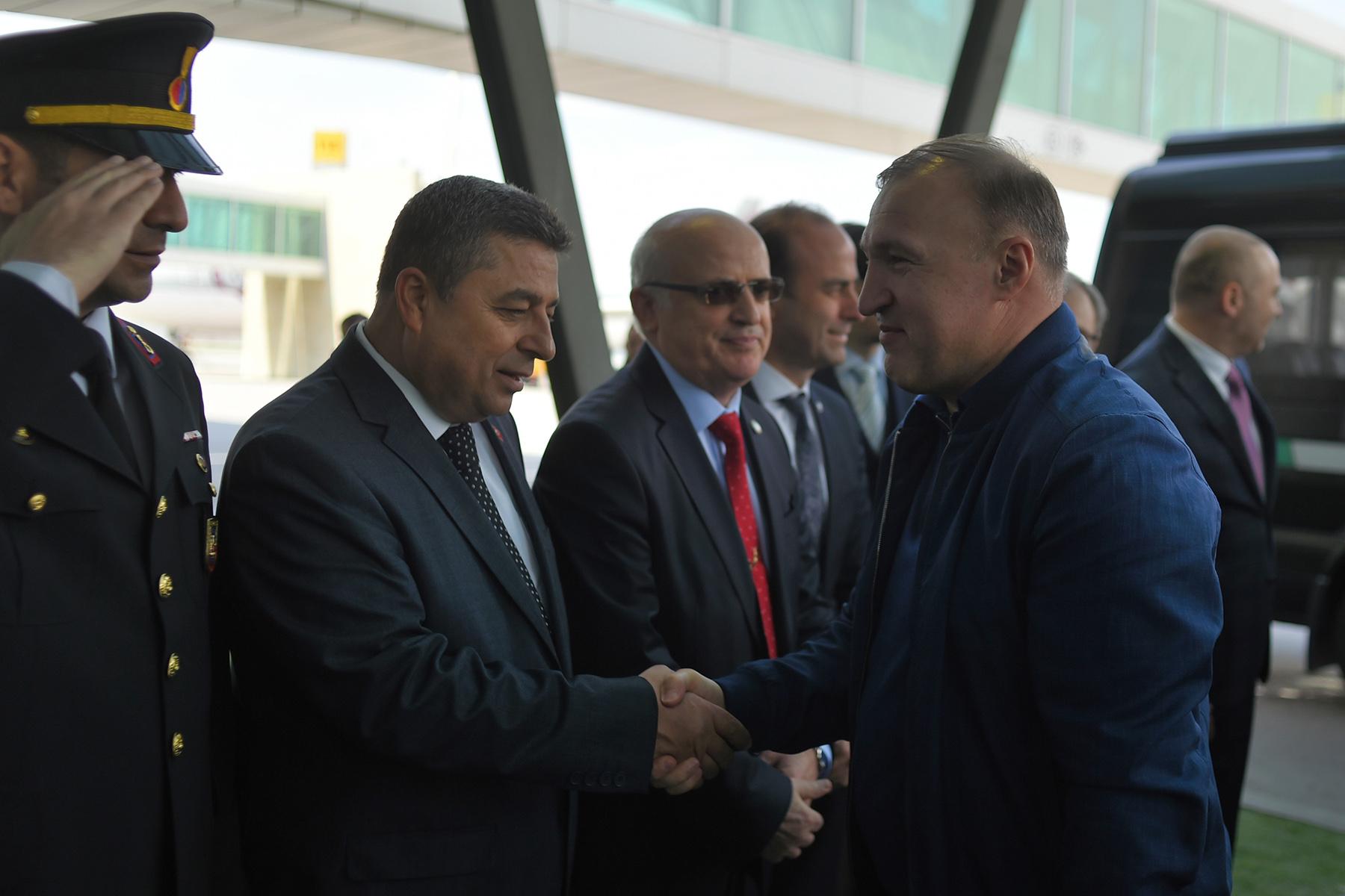 Официальная делегация Адыгеи прибыла с деловым визитом в Турцию
