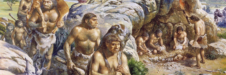 Первобытные люди, перейдя Манычскую впадину, устремились к богатствам Кавказа