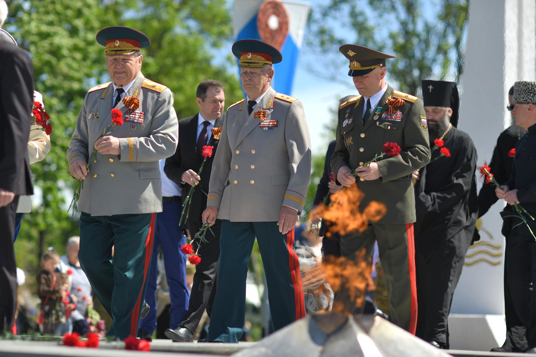 В Адыгее почтили память павших в годы Великой Отечественной войны