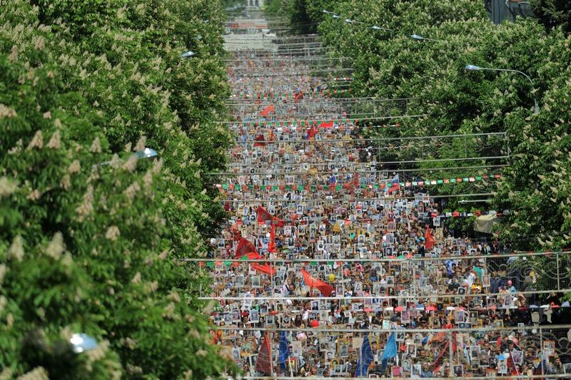 Акция «Бессмертный полк» в Адыгее собрала более 52 тыс. человек