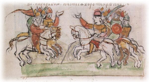 Касожский князь Редедя (Ридадя)