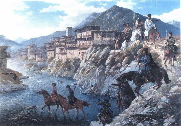 Первое появление человека на Кавказе