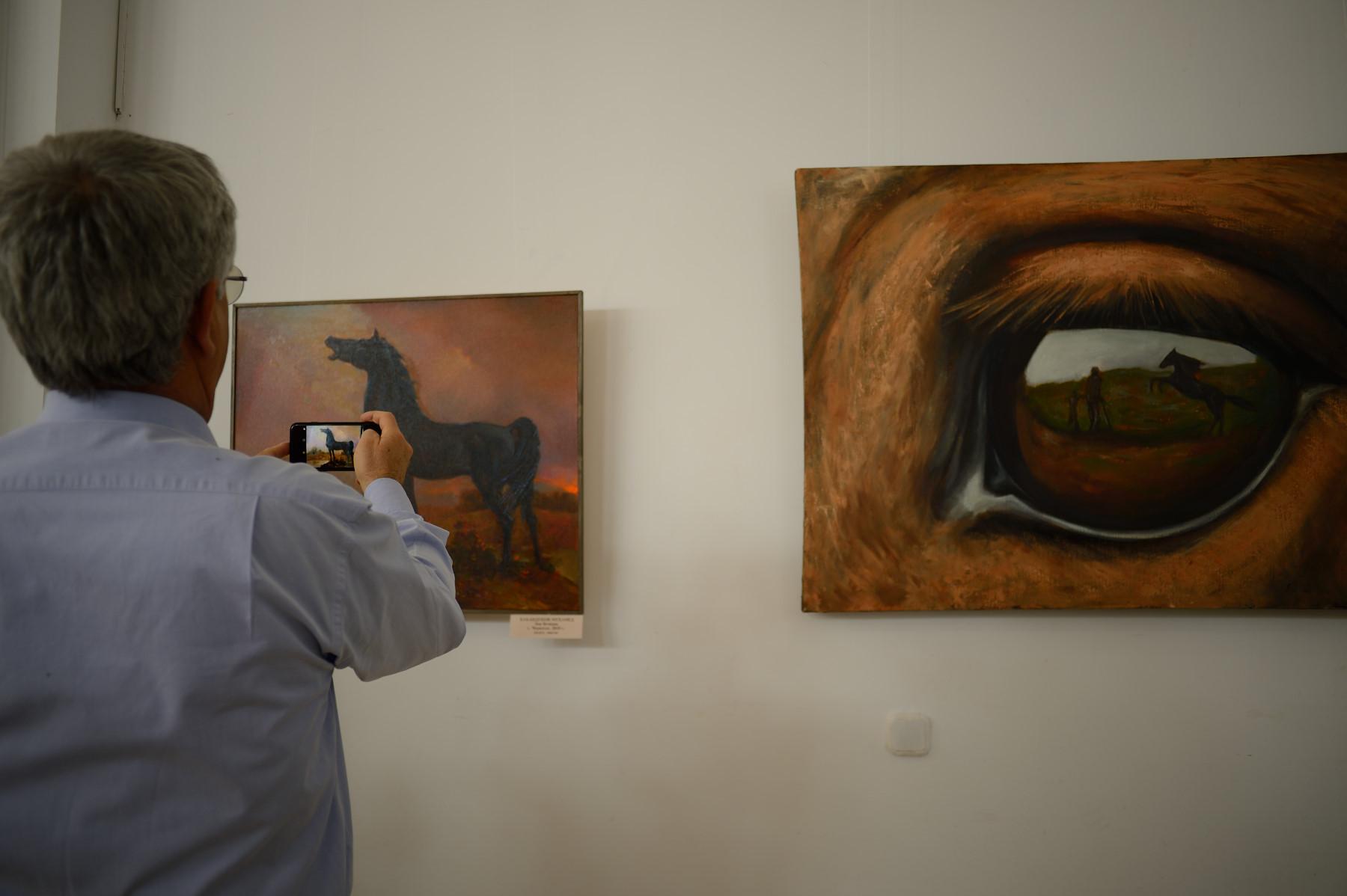 В Адыгее открылась выставка-конкурс «Превосходный конь Бечкан»