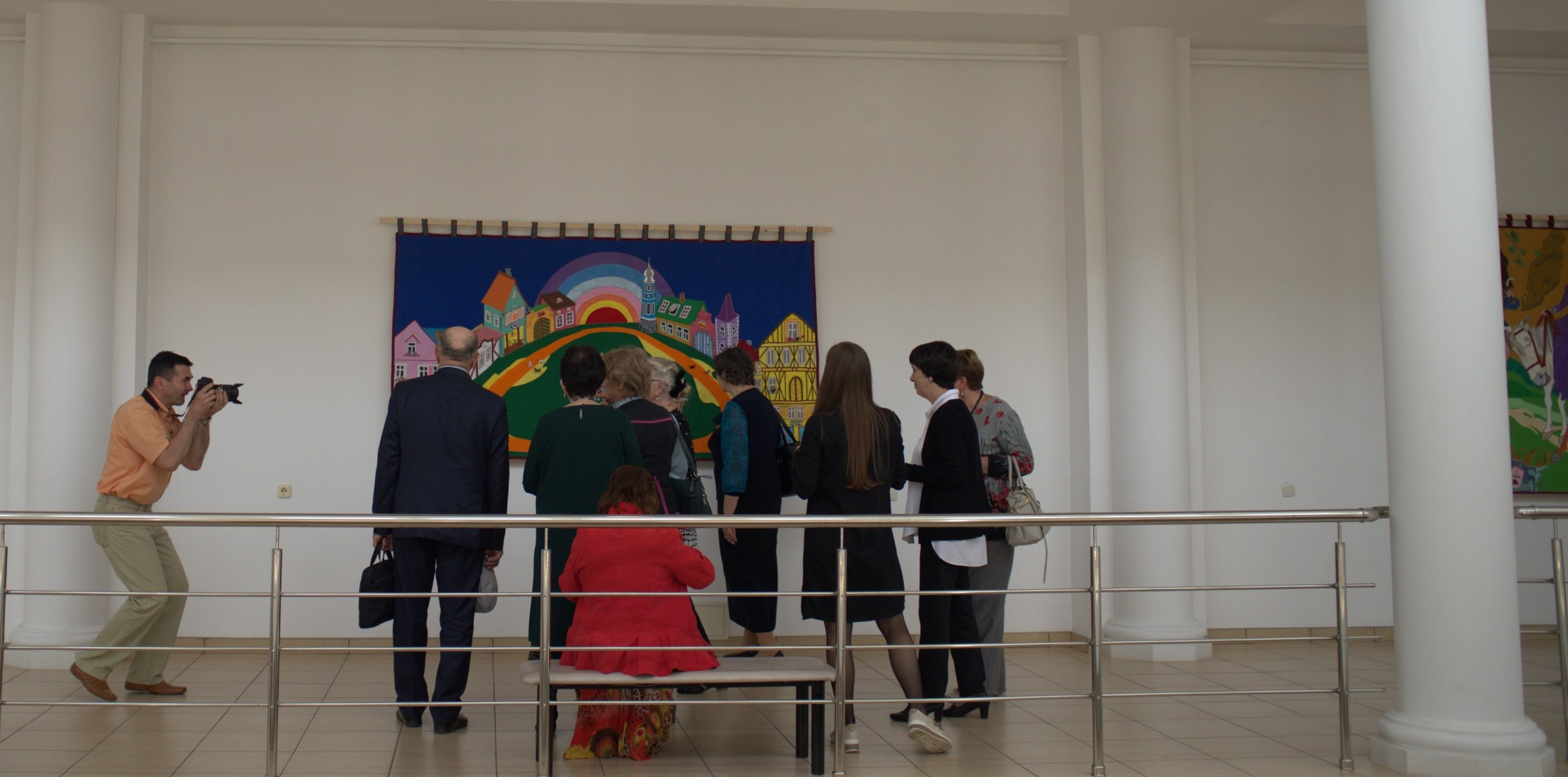 В Адыгее открылась выставка члена-корреспондента Российской академии художеств Нины Буденной