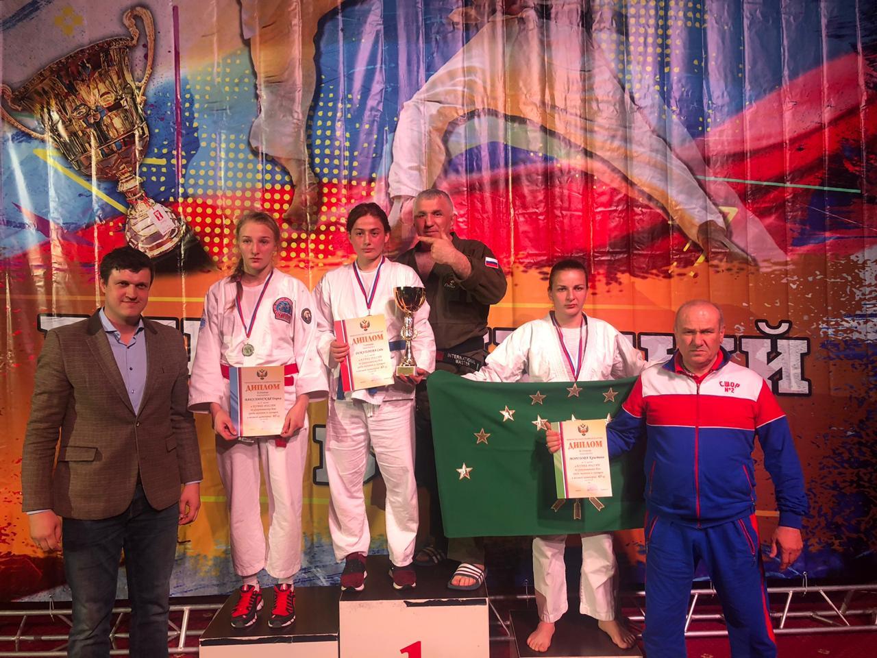 Спортсменка из Адыгеи стала призером Кубка России по рукопашному бою