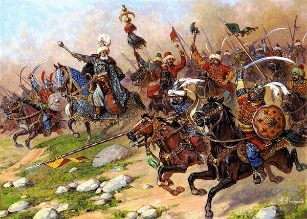 Турки-османы и крымские ханы постоянно воевали с черкесами | Адыги.RU | Яндекс Дзен