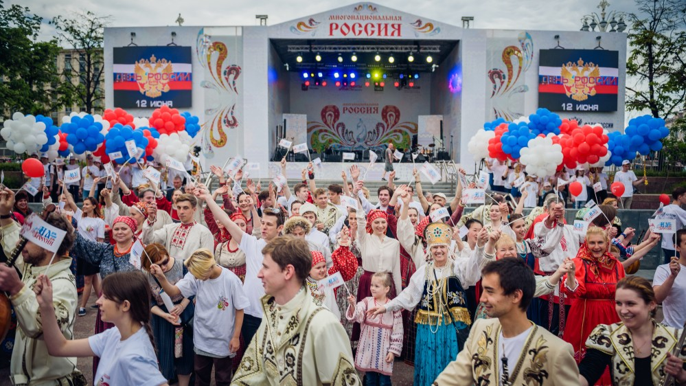 Жителей страны приглашают принять участие в фестивале «Многонациональная Россия»