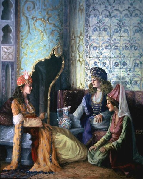Черкешенки — жены шахов, ханов, халифов, султанов и королей | Адыги.RU | Яндекс Дзен