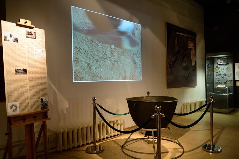 В Адыгее открылась выставка «Священный котел нартов»