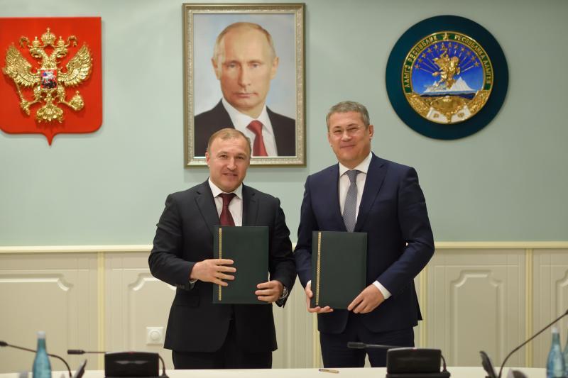 Адыгея и Башкортостан заключили соглашение о сотрудничестве