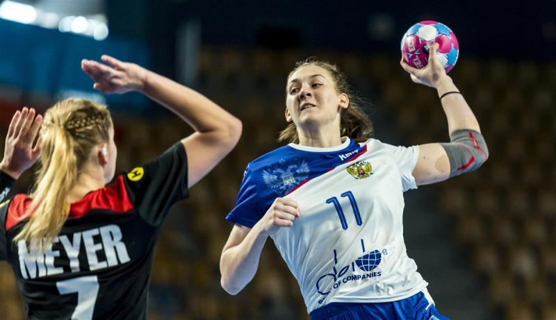 Гандболистка из Адыгеи вошла в символическую сборную юниорского чемпионата Европы