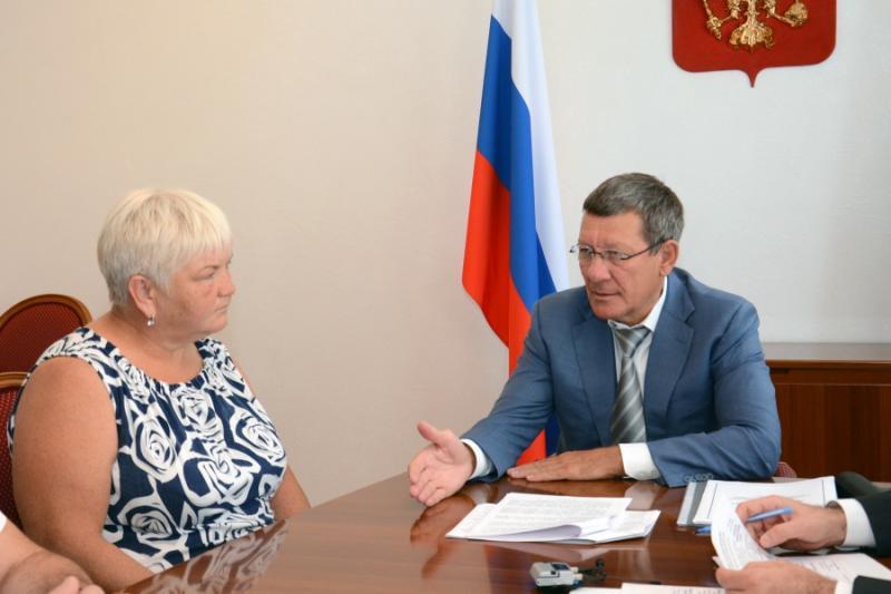 Замполпреда президента РФ в ЮФО Владимир Гурба провел в Адыгее прием граждан