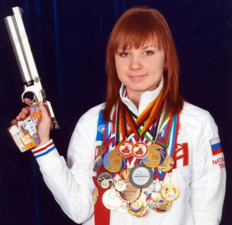Спортсменка из Адыгеи завоевала золото Чемпионата России по стрельбе