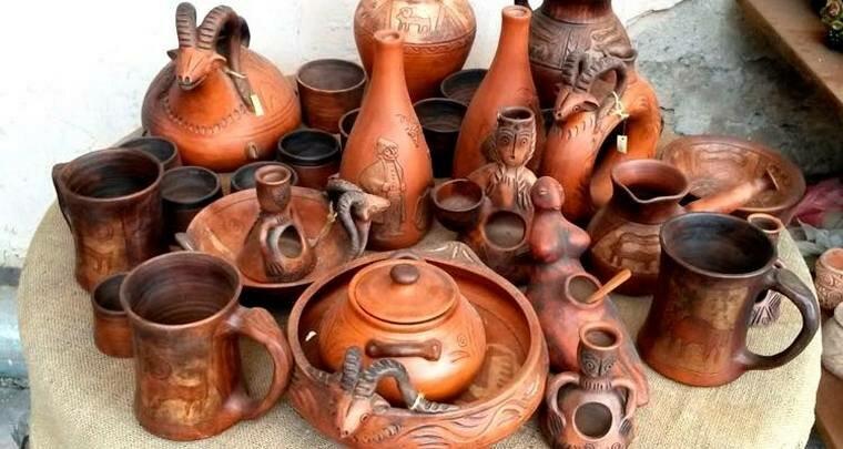 Искусство гончарного дела у древних черкесов