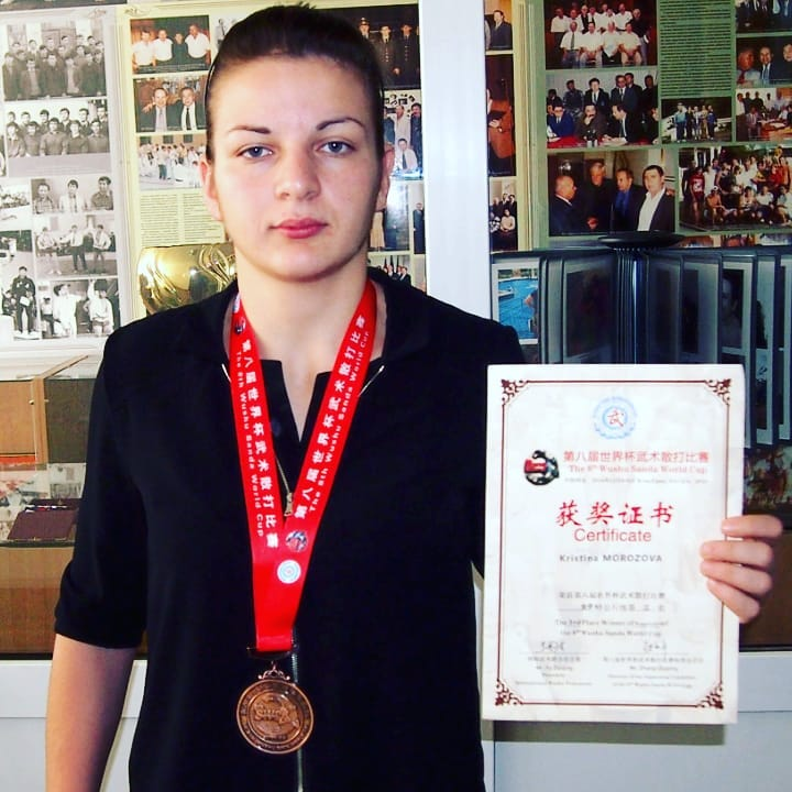 Спортсменка из Адыгеи Кристина Морозова завоевала бронзу чемпионата мира по ушу