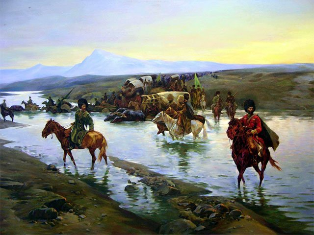 Экспедиция генерала С.А. Портнягина в Закубанье (сентябрь 1813) | Адыги.RU | Яндекс Дзен