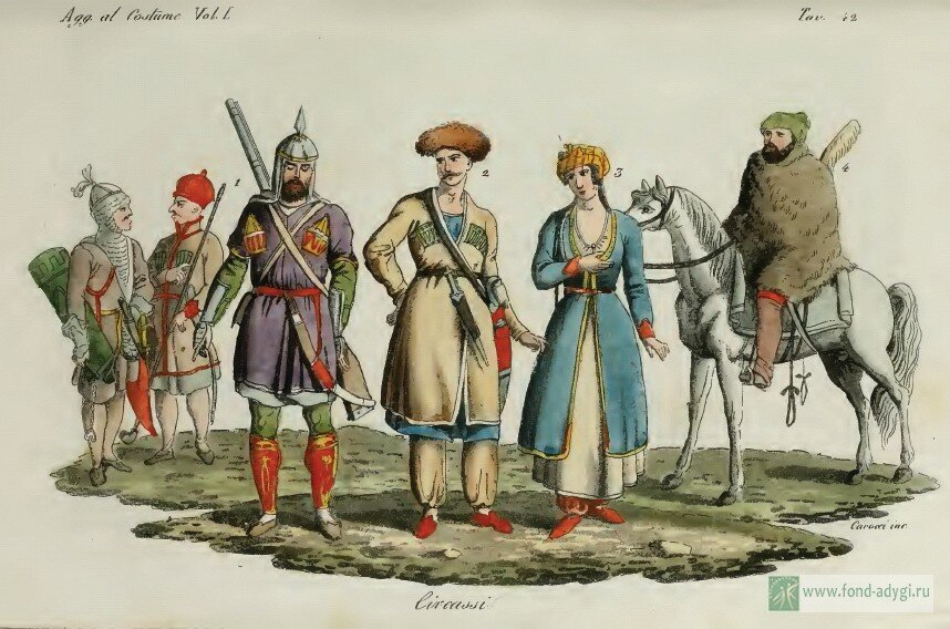 Откуда среди черкесов появилось племя жанэ?
