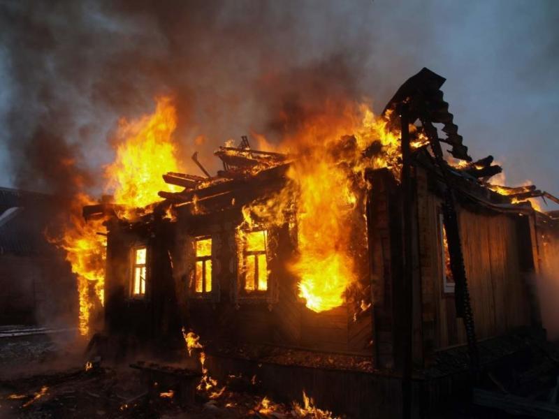В Адыгее при пожаре погиб мужчина