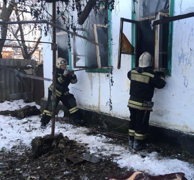 В столице Адыгеи при пожаре погиб мужчина