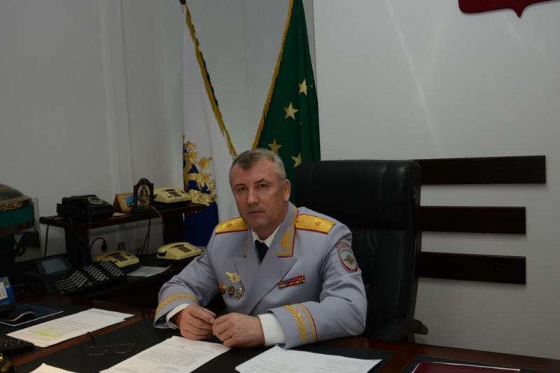 На страже закона и порядка. Беседа с министром внутренних дел по Адыгее Владимиром Алаем