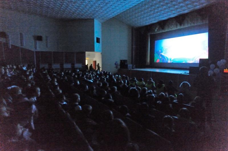 В станице Ханской открылся современный 3D-кинотеатр