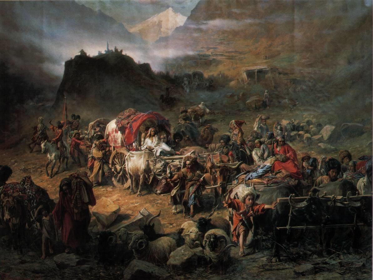 Война России против Западной Черкесии приняла легальный характер после заключения мира в Адрианополе