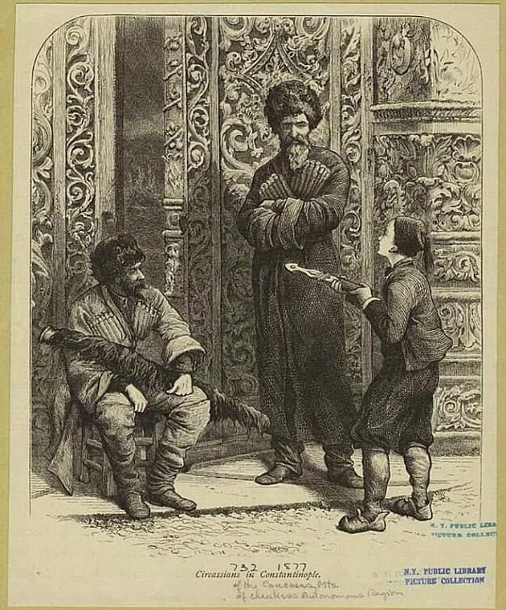 """Тайна гравюры """"Черкесы в Константинополе"""" 1877 год"""