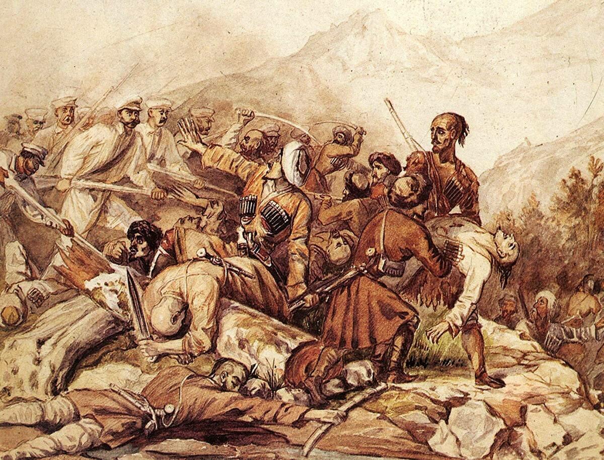 Казачья колонизация Западного Кавказа