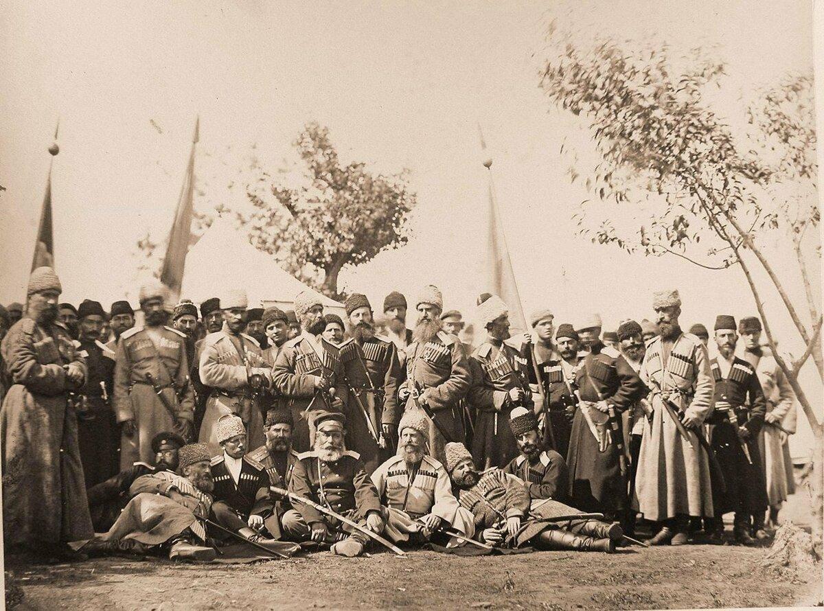 Создание кавказских воинских иррегулярных формирований для участия в войне в составе русских войск