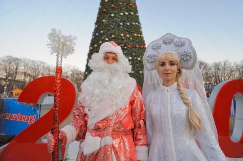 Главную елку столицы Адыгеи закроют 12 января