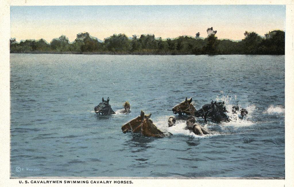 """""""Пальбу залпами"""": как учили плавать русских солдат в 30-е годы XIX века."""