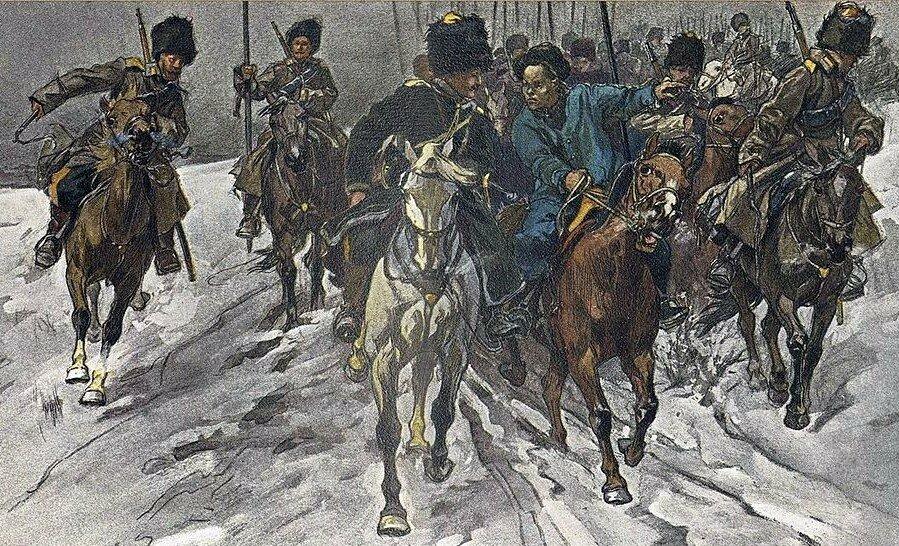 """""""Совершенно бесцельным"""". Нападение казаков на Инкоу в русско-японскую войну глазами иностранных офицеров."""