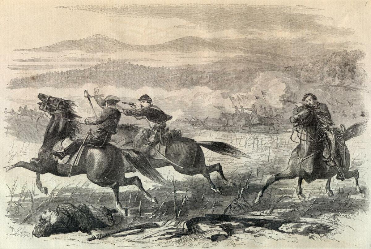 """""""Кто нибудь видел убитого кавалериста?"""" Кавалерия США в Гражданской войне 1861 - 1865 годов: тактика и оружие."""