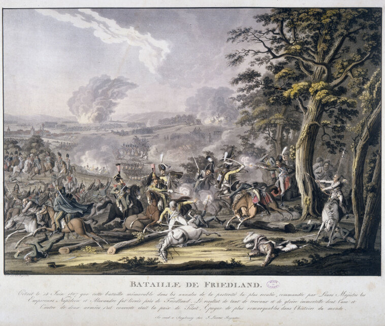 Бой под Фридландом 14 июня 1807 года: классика кавалерийского сражения рубежа XVIII - XIX веков.