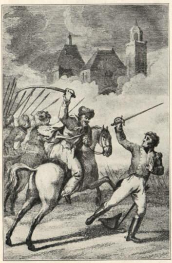 """""""Эти дикие наездники"""": французские офицеры о казаках в 1813 году."""