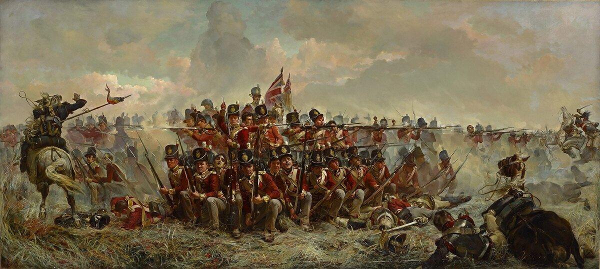 Пехотные каре против удара кавалерии: кто кого или дьявол кроется в деталях.
