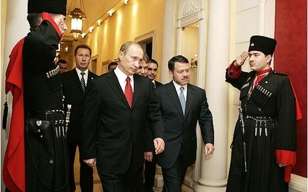 Роль черкесов в военной и политической жизни Сирии и Иордании