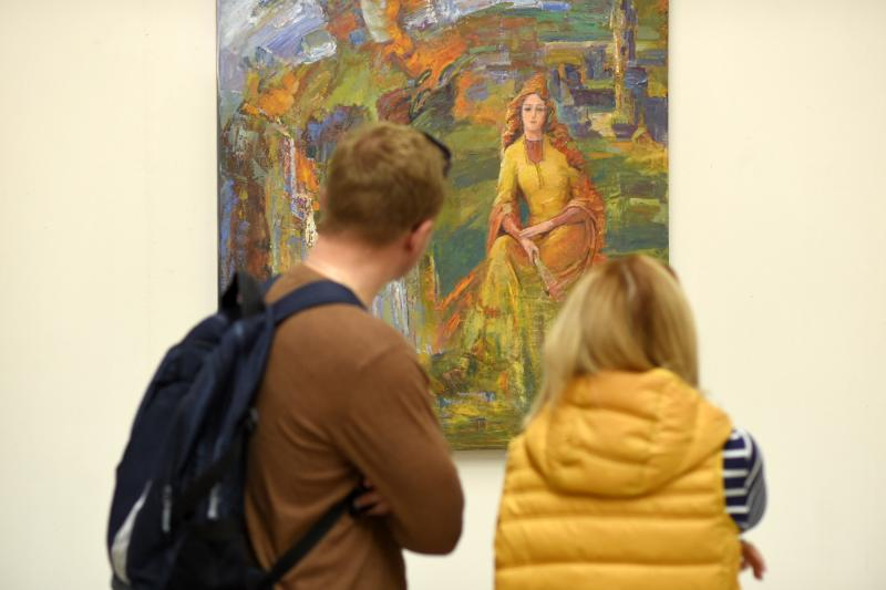 Северокавказский филиал музея Востока получит 1,8 млн рублей на создание электронной базы и изучение картин художников Адыгеи и диаспоры