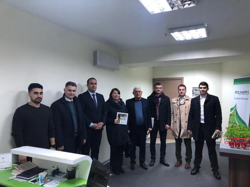 Бизнесмены Адыгеи договорились об экспорте сыра, зерна и редукторов в Азербайджан