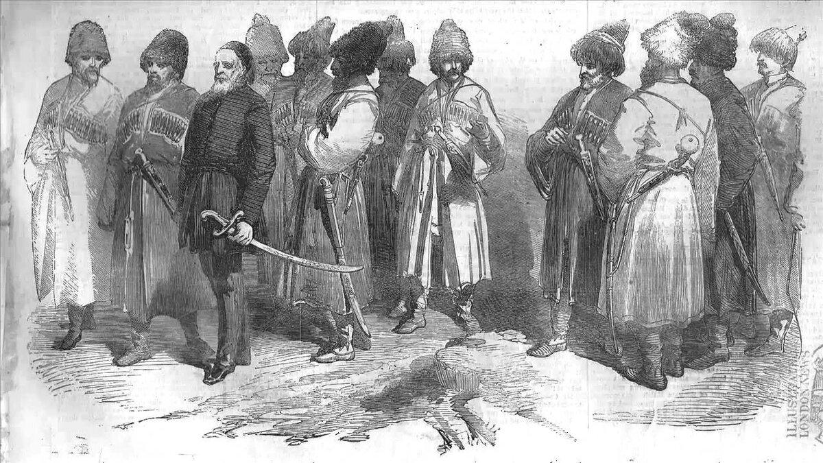Русские источники о черкесах в древности