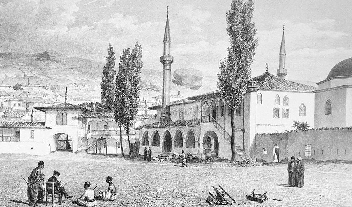 Взаимоотношения Черкесии, Крымского ханства и Османской империи