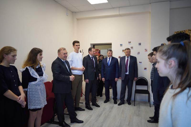 Глава Адыгеи посетил социальные объекты в Красногвардейском районе