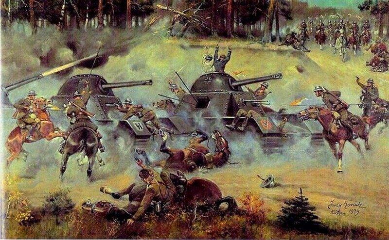 Ходили ли поляки с саблями на немецкие танки в 1939 году?