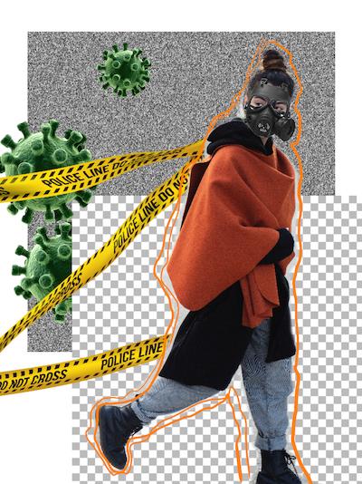Дизайнер из Адыгеи создала коллекцию в стилистике «защитная мода»