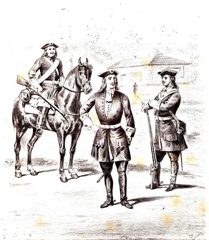 """""""На свеев манир"""": как учили драгун Петра I (из дневника драгунского капитана, 1708 год)"""