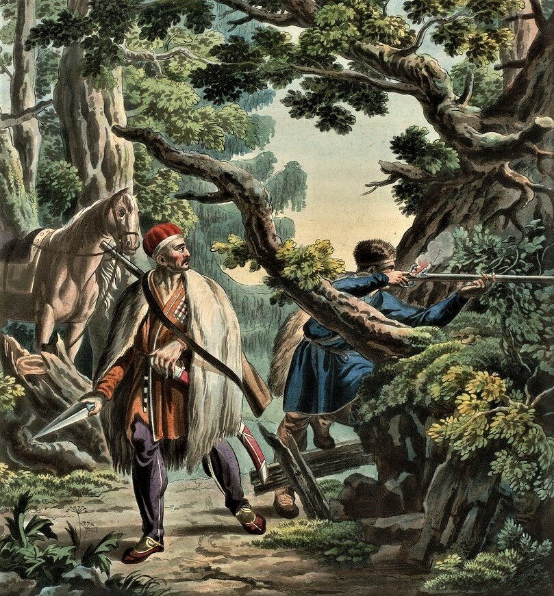 """""""В серое облачко стреляют"""": как русские солдаты стреляли, и как чеченцы этим пользовались (1851 год)"""